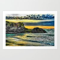 End Of A Beautiful Day Art Print