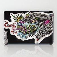 Panther Tongue iPad Case