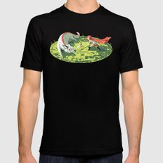 Duel Mens Fitted Tee SMALL Black