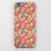 Color Blocks Pattern iPhone 6 Slim Case