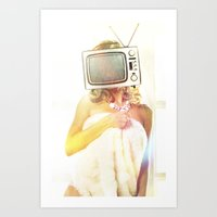 SEX ON TV - FOXY by ZZGLAM Art Print