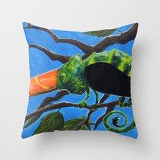 Tukameleon Throw Pillow
