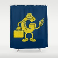 G-Man Shower Curtain