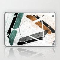 Skatestriangles Laptop & iPad Skin