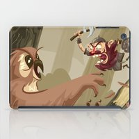Knubby The Dwarf Fights … iPad Case