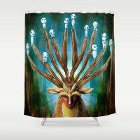 Princess Mononoke The De… Shower Curtain
