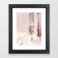 stiches Framed Art Print