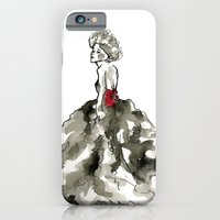 iPhone & iPod Case featuring Lady in Red  by Anna Wand