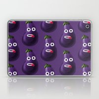 Stressed Out Eggplant Laptop & iPad Skin