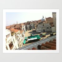 View From Ruzzini - Veni… Art Print