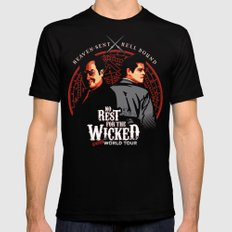No Rest for the Wicked Mens Fitted Tee Black SMALL