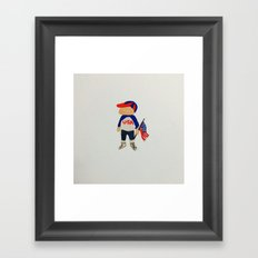 Fourth Of July Framed Art Print