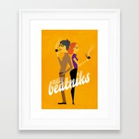 New Beatniks Framed Art Print