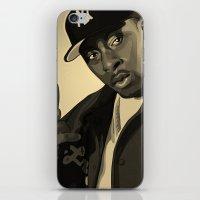 Pete Rock iPhone & iPod Skin