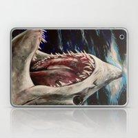 Mako Shark of Dark Waters Laptop & iPad Skin