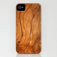 Wood Texture 99 iPhone (4, 4s) Slim Case