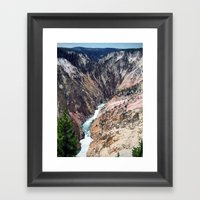 Yellowstone National Par… Framed Art Print