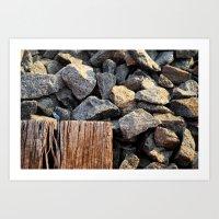 rocky roads Art Print