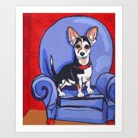 Queen Lucy Art Print