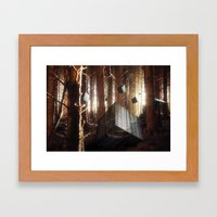 Cube Awakening Framed Art Print