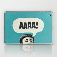 AAAA! (Blue) Laptop & iPad Skin