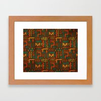 African Framed Art Print