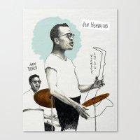 ANALOG zine - Vocalese Sax Solo Canvas Print