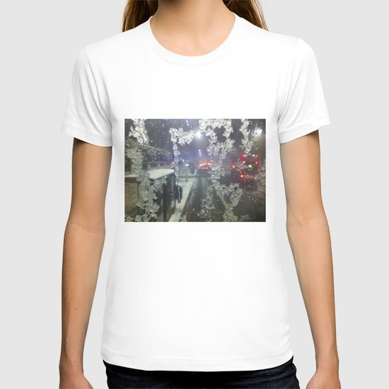 Snow in London T-shirt