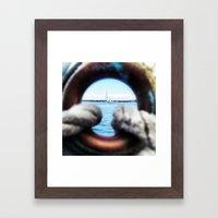 Eyeful Framed Art Print