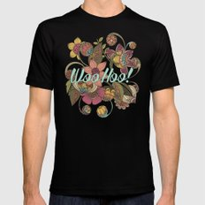 WooHoo! Black Mens Fitted Tee SMALL