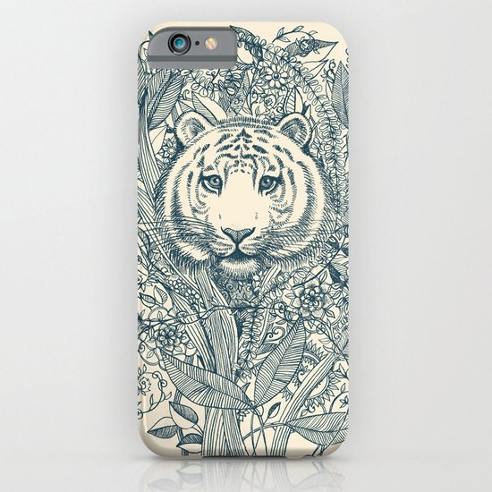 Tiger Tangle iPhone & iPod Case