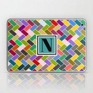 N Monogram  Laptop & iPad Skin