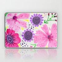 Pinks - Botanical Flower… Laptop & iPad Skin
