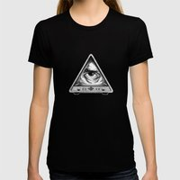 Big Brother Womens Fitted Tee Black SMALL