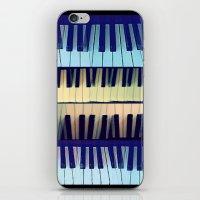 piano1 iPhone & iPod Skin