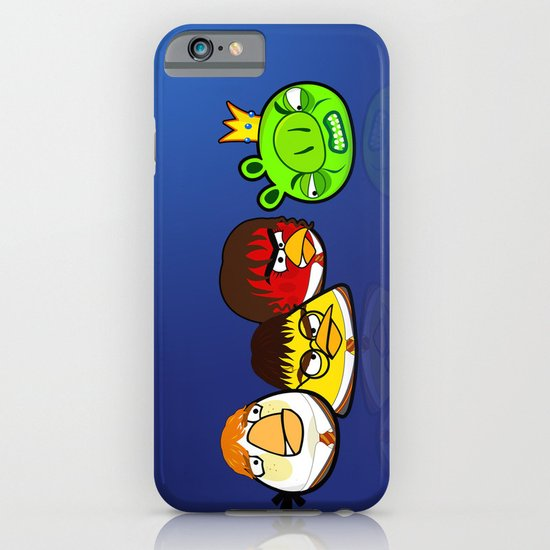 Angry Potter Birds | Angry Birds vs Harry Potter iPhone & iPod Case