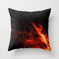Éclaboussures De Lumiè… Throw Pillow