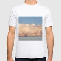 Cloud Mens Fitted Tee Ash Grey SMALL