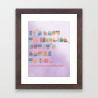 It's Easy to Imagine Framed Art Print