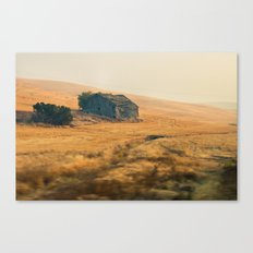 Palouse Barn Canvas Print