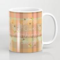 Give Thanks - Autumn Pla… Mug