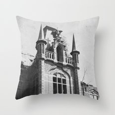 Urbex  Throw Pillow
