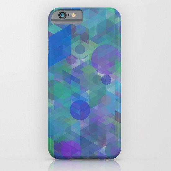 Panelscape + circles  - #1 society6 custom generation iPhone & iPod Case