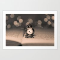 Reading Time Art Print