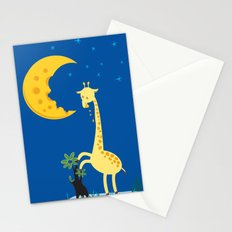 The Delicious Moon Cheese Stationery Cards