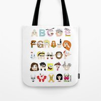 Child Of The 00s Alphabe… Tote Bag