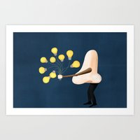Nose For Ideas Art Print