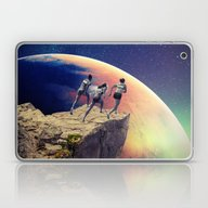 Orange Planet Laptop & iPad Skin