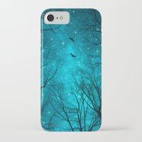 forest iPhone & iPod Cases featuring Stars Can't Shine Without Darkness  by soaring anchor designs