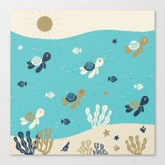Tortugas Canvas Print